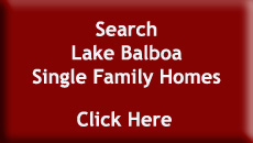 Search Lake Balboa Single Family Homes