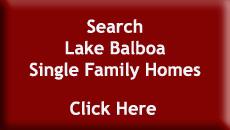 Search Lake Balboa Single Family Homes